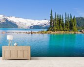 Garibaldi Lake, BC wallpaper mural living room preview