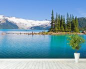 Garibaldi Lake, BC wallpaper mural in-room view