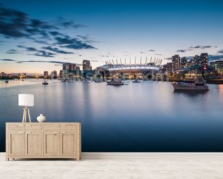 A Place on the Water, BC wall mural