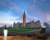 Canada Parliament Building at Ottawa wall mural kitchen preview