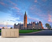 Canada Parliament Building at Ottawa wall mural living room preview
