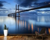 Bridge at Night wall mural kitchen preview