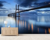 Bridge at Night wall mural living room preview