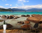 Ilha Grande Beach, Brazil mural wallpaper kitchen preview