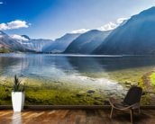 Austrian Alps Panorama mural wallpaper kitchen preview