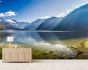 Austrian Alps Panorama mural wallpaper living room preview