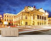 Vienna State Opera wallpaper mural living room preview
