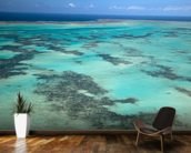 Great Barrier Reef, Australia mural wallpaper kitchen preview