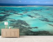 Great Barrier Reef, Australia mural wallpaper living room preview