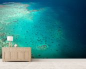 Great Barrier Reef wallpaper mural living room preview