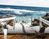 Rottnest Island mural wallpaper kitchen preview