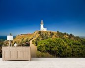 Byron Bay Lighthouse wall mural living room preview