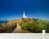 Byron Bay Lighthouse wall mural in-room view