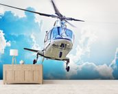 Helicopter Landing wall mural living room preview