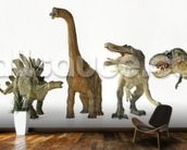 Dinosaurs Row wall mural kitchen preview