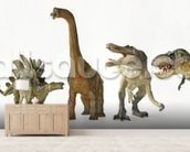 Dinosaurs Row wall mural living room preview