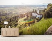 Italian Vineyards wall mural living room preview