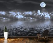 Moon Seascape wall mural kitchen preview