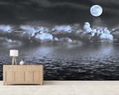 Moon Seascape wall mural living room preview