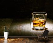 Scotch on Wood mural wallpaper kitchen preview