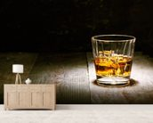 Scotch on Wood mural wallpaper living room preview