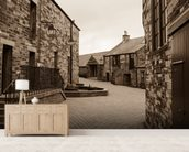 Scottish Whisky Distillery mural wallpaper living room preview