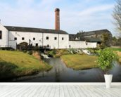 Distillery At Kilbeggan mural wallpaper in-room view