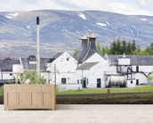 Dalwhinni Distillery, Scotland wall mural living room preview