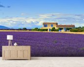 Provence Landscape wallpaper mural living room preview
