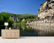 Dordogne et la Roque Gageac wall mural living room preview