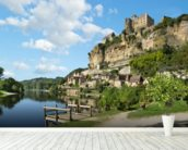 Beynac-et-Cazenac Landscape wallpaper mural in-room view