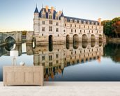 Loire - Chateau de Chenonceau mural wallpaper living room preview