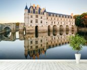 Loire - Chateau de Chenonceau mural wallpaper in-room view