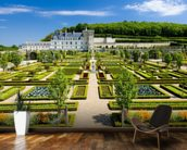 Loire - Villandry Castle and Gardens wall mural kitchen preview