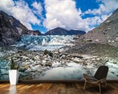 Tasman Glacier mural wallpaper kitchen preview
