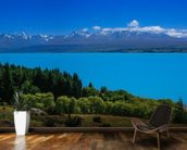 Mt. Cook from Lake Pukaki wall mural kitchen preview