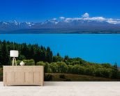 Mt. Cook from Lake Pukaki wall mural living room preview