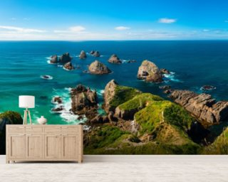 Nugget Point View wallpaper mural