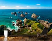 Nugget Point View wallpaper mural kitchen preview