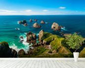 Nugget Point View wallpaper mural in-room view