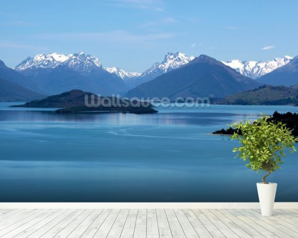 Queenstown - Lake Wakatipu wall mural room setting