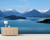Queenstown - Lake Wakatipu wall mural living room preview