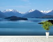 Queenstown - Lake Wakatipu wall mural in-room view