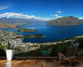 Queenstown Panorama mural wallpaper kitchen preview