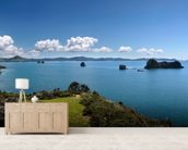 Coromandel Peninsula wall mural living room preview