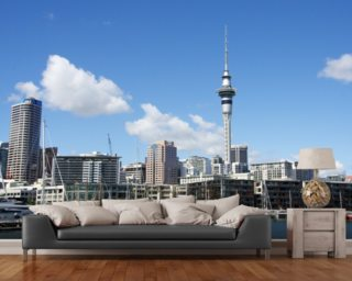 Auckland Cityscape wall mural