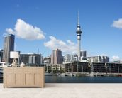 Auckland Cityscape wall mural living room preview