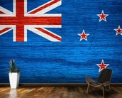 New Zealand Flag wall mural kitchen preview
