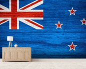 New Zealand Flag wall mural living room preview