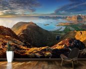 Lofoten Landscape wall mural kitchen preview